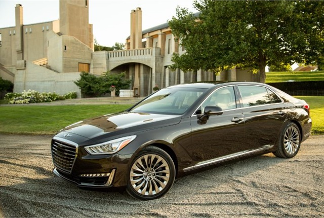 Photo of the 2017 G90 courtesy of Genesis.