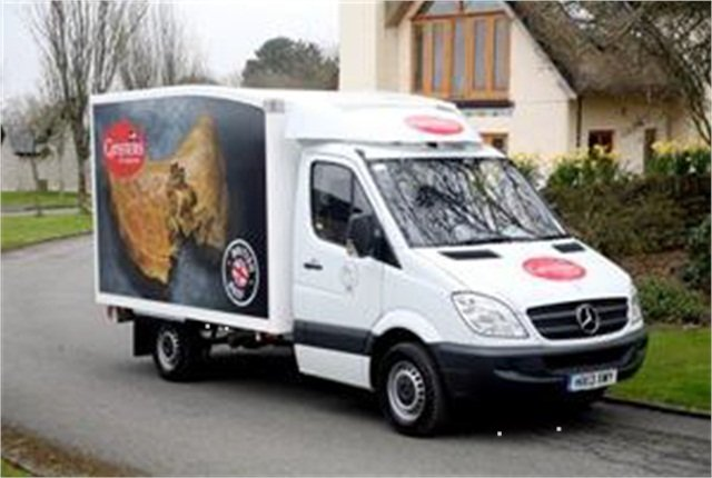 Ginsters worked with bodybuilder Solomons to develop a prototype refrigerated box van.