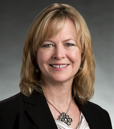 GM's Joyce Mattman,director of commercial products for the automaker.