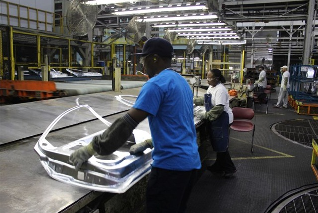Photo of Pontiac Metal Center courtesy of GM.