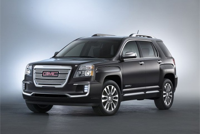 Photo of 2016 GMC Terrain Denali courtesy of GM.