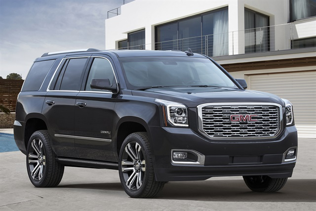 Photo of 2018 GMC Yukon Denali courtesy of GM.
