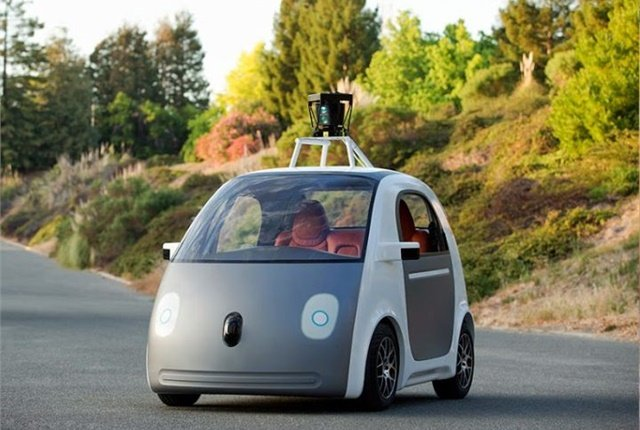 Photo of self-driving car courtesy of Google.