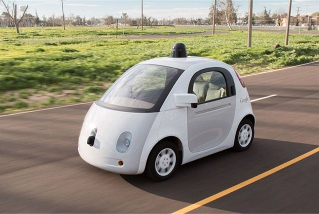 Juniper Research identified Google as the most promising player in the autonomous car sector. Photo of Google self-driving car prototype courtesy of Google.