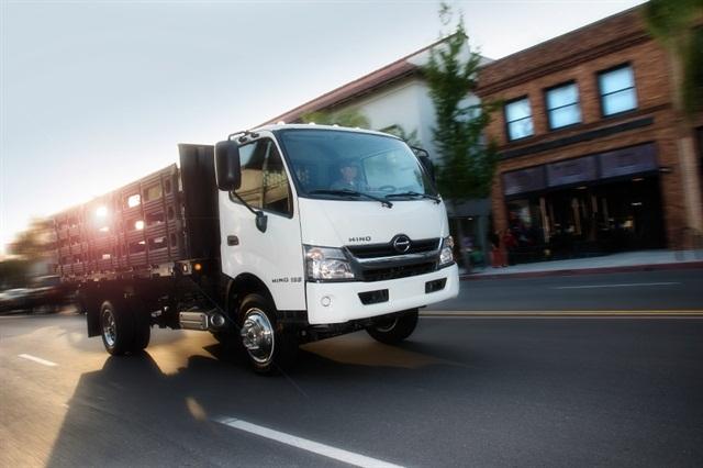 Photo courtesy of Hino Motors.