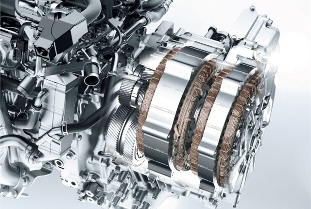 Honda's Earth Dreams hybrid two-motor system.
