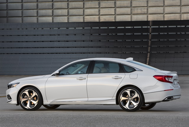 Photo of 2018 Accord Touring courtesy of Honda.