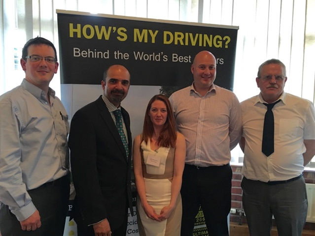 The 2016 Road Safety Steering Group. Photo: How's My Driving?