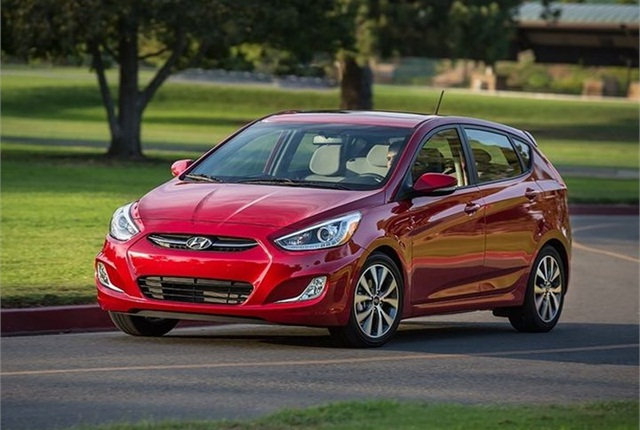 Photo of 2016 Accent courtesy of Hyundai.