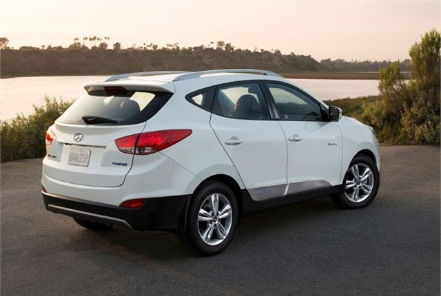 Photo of 2015 Tucson Fuel Cell courtesy of Hyundai.