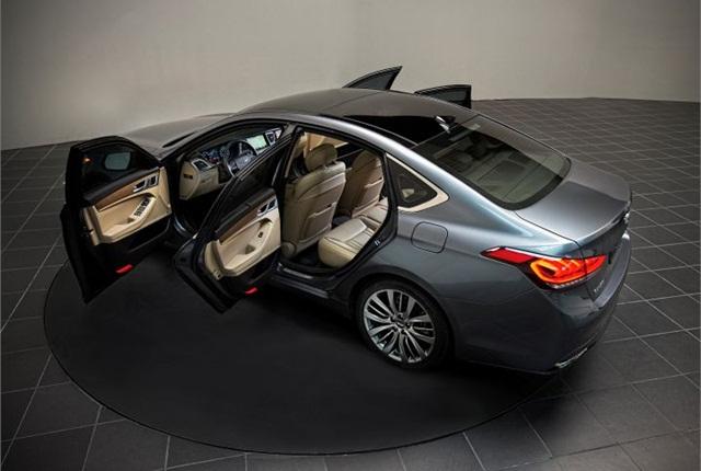Photo of 2015 Genesis courtesy of Hyundai.