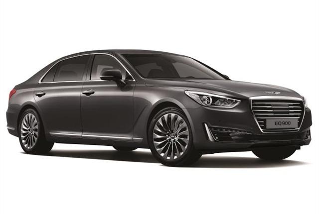 Photo of Genesis G90 courtesy of Hyundai.