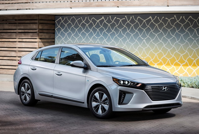 Photo of 2018 Ioniq Plug-in Hybrid courtesy of Hyundai.