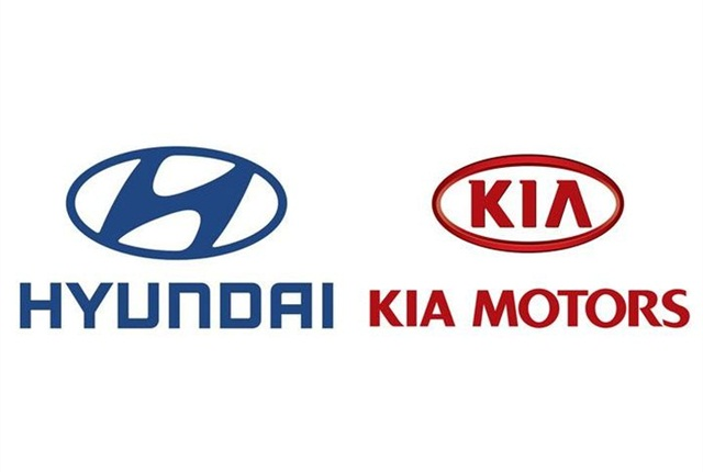 Logos via Hyundai and Kia.