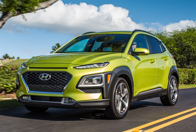 Photo of 2018 Kona courtesy of Hyundai.