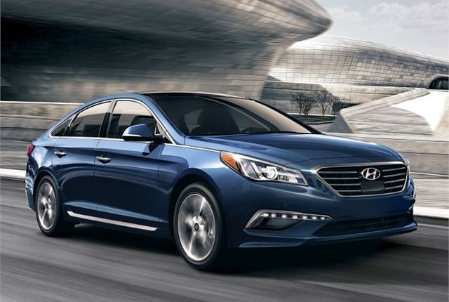 Photo of 2016 Sonata courtesy of Hyundai.