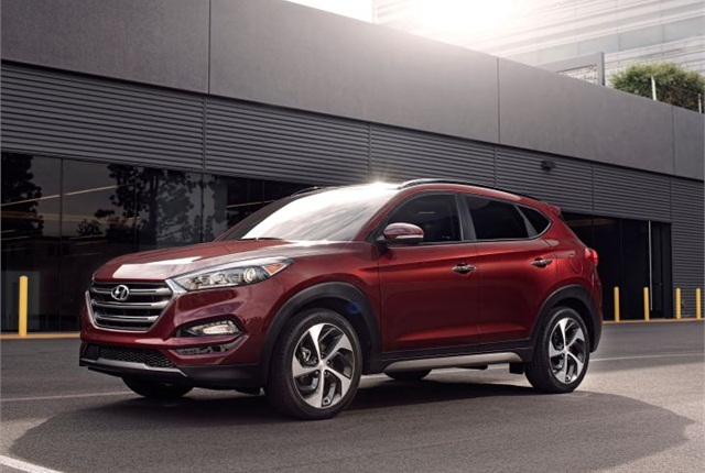 Photo of 2016 Tucson courtesy of Hyundai.