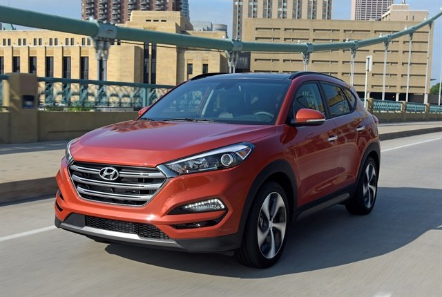 Photo of 2018 Tucson courtesy of Hyundai.