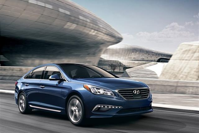 Photo of Hyundai Sonata courtesy of Hyundai.