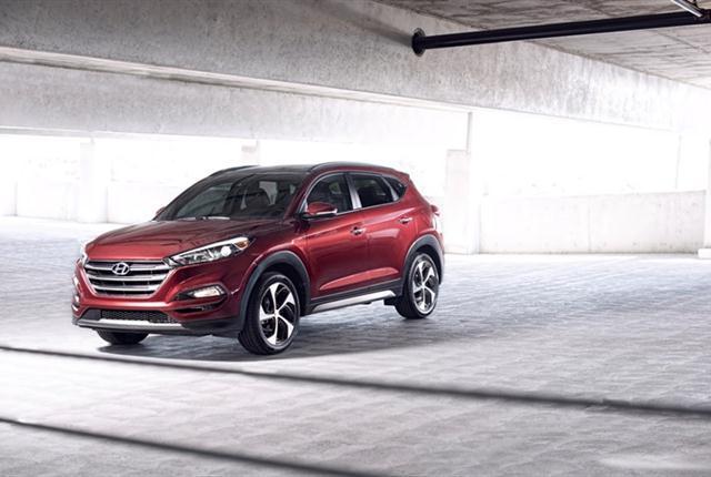 Photo of Hyundai Tucson courtesy of Hyundai.