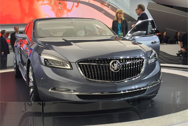 Photo of the Buick Avenir by Mike Antich.