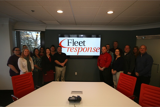 The new and expanded executive board room can fit up to 30 people. Photo: Automotive Fleet