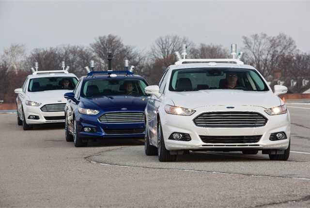 The research projects will explore the application of LiDAR sensors and advanced algorithms to develop automated driving solutions. Photo: Ford Motor Co.