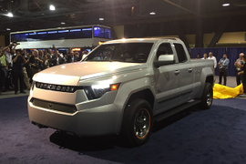 Workhorse to Debut Electric Delivery Van at CES