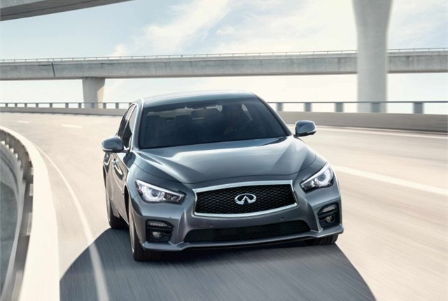 Photo of the 2016 Q50 courtesy of Infiniti.