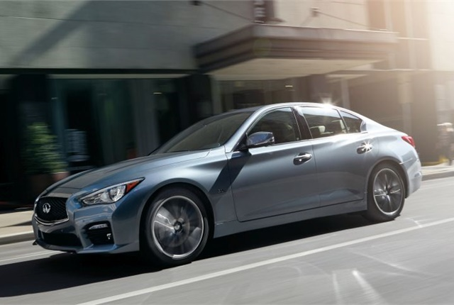 Photo of 2016 Q50 3.0t courtesy of Infiniti.