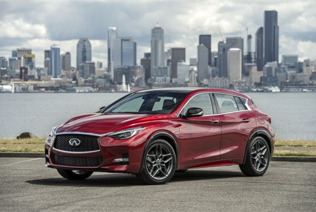 Photo of the 2017 QX30 courtesy of Infiniti.