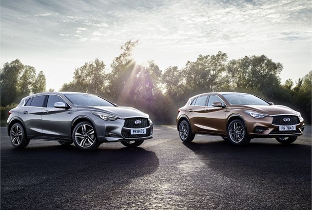 Photo of 2017 QX30 and QX30S courtesy of Infiniti.