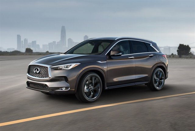 Photo of 2019 QX50 courtesy of Infiniti.