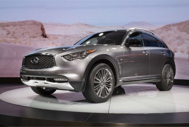 Photo of 2017 QX70 courtesy of Infiniti.