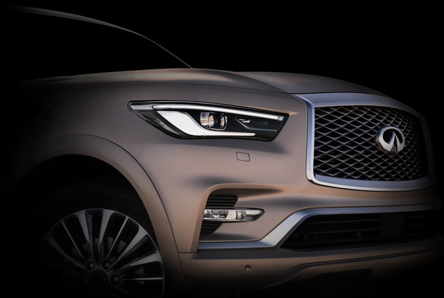 Photo of QX80 courtesy of Infiniti.