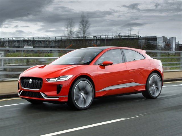 Photo of I-Pace courtesy of Jaguar Land Rover.