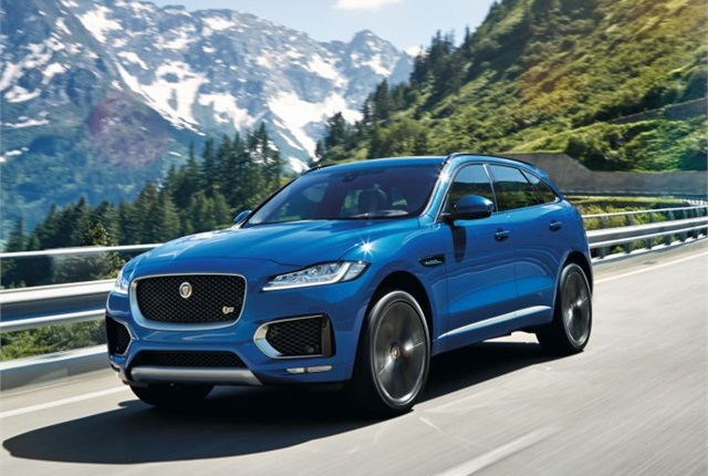 Photo of F-Pace courtesy of Jaguar.