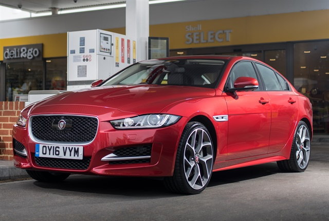 Photo of 2018 XE courtesy of Jaguar.