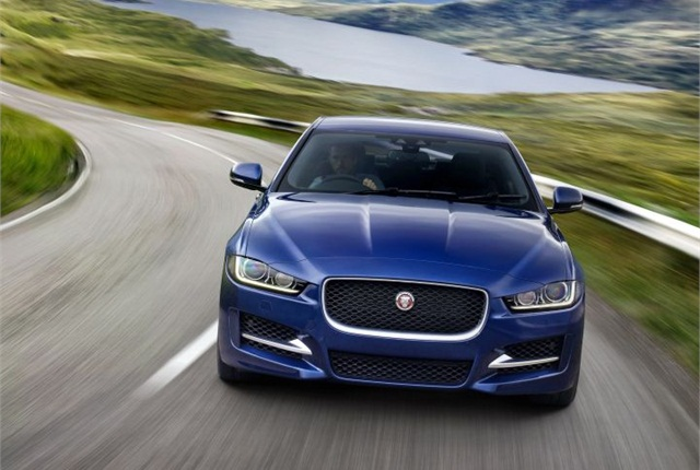 Photo of 2016 XE courtesy of Jaguar.