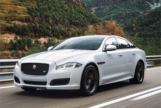 Photo of 2016 XJR courtesy of Jaguar.