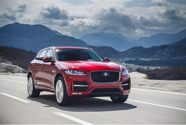 Photo of Jaguar F-Pace courtesy of Jaguar Land Rover.