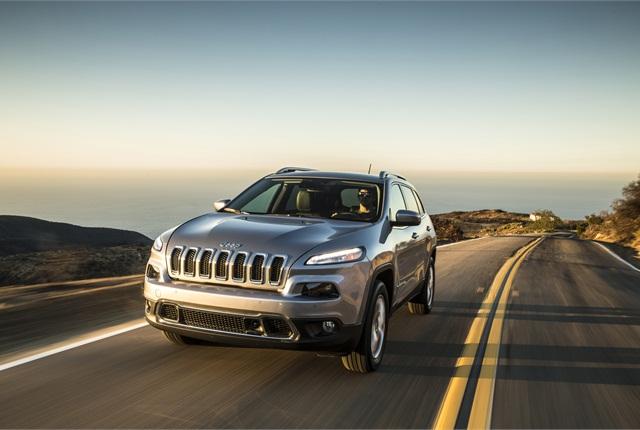 Photo of Jeep Cherokee courtesy of FCA US.
