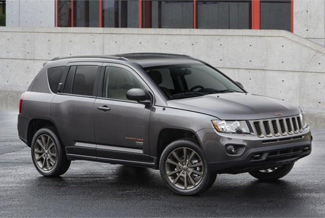 Photo of 2016 Jeep Compass courtesy of FCA.