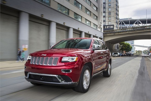 Photo of 2014 Jeep Grand Cherokee courtesy of Chrysler.
