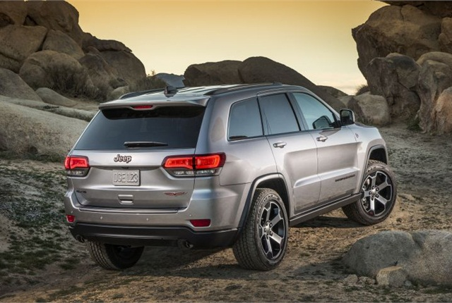 Photo Of 2017 Jeep Grand Cherokee Trailhawk Courtesy Fca Us