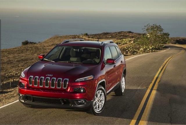 Photo of Jeep Cherokee courtesy of FCA.
