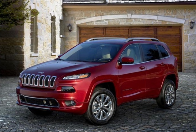 Photo of Jeep Cherokee courtesy of FCA.