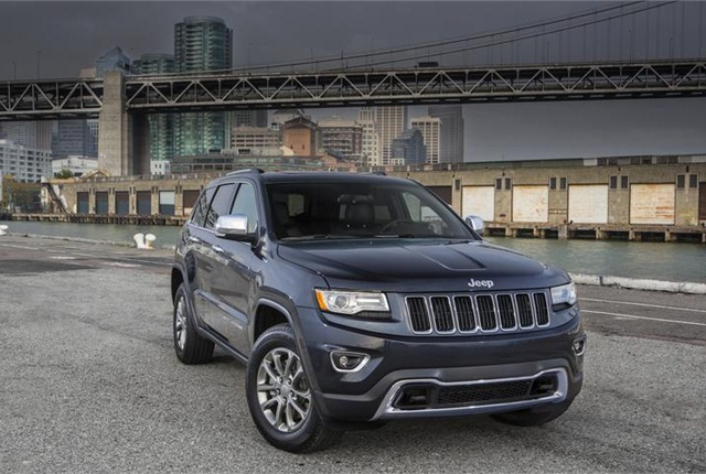 Photo of Jeep Grand Cherokee courtesy of FCA (Fiat Chrysler Automobiles).