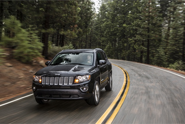 Photo of Jeep Compass courtesy of FCA US.