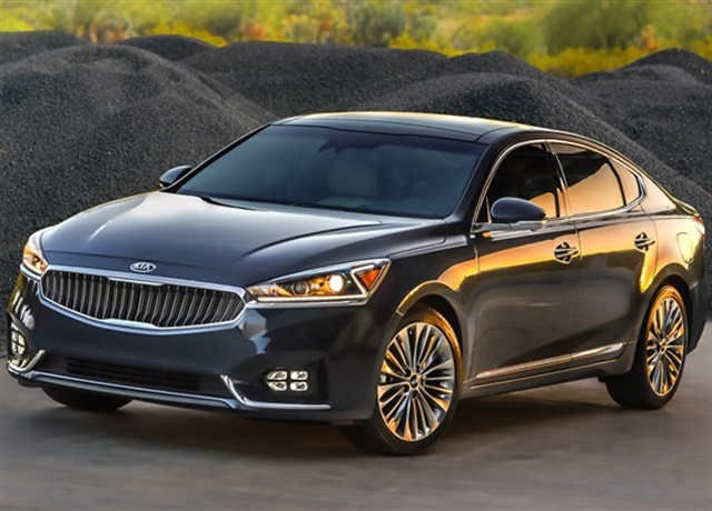 Photo of 2017 Cadenza courtesy of Kia Motor.